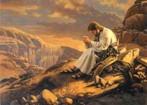Jesus é tentado pelo diabo
