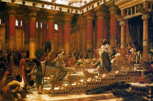 'The_Visit_of_the_Queen_of_Sheba_to_King_Solomon',_oil_on_canvas_painting_by_Edward_Poynter,_1890,_Art_Gallery_of_New_South_Wales