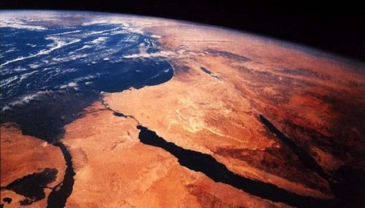 nile from space
