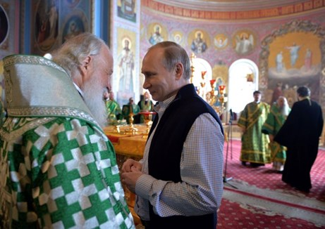 Putin and the ortodox Church